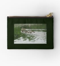 Eleven Duckling's in the Rain Studio Pouch