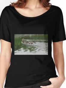 Eleven Duckling's in the Rain Women's Relaxed Fit T-Shirt