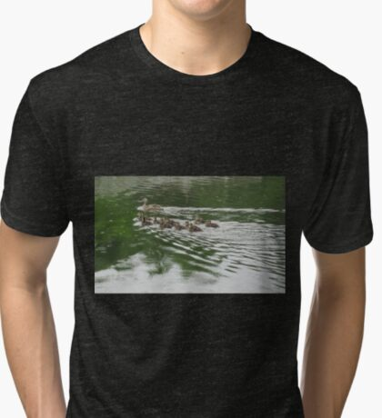 Eleven Duckling's in the Rain Tri-blend T-Shirt