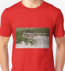 Eleven Duckling's in the Rain Unisex T-Shirt