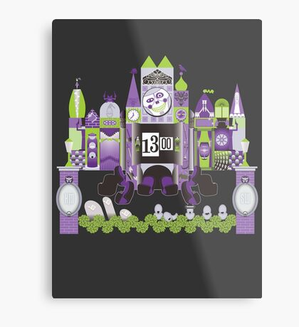 Is This Small World Actually Stretching? (for Darker Rides) Metal Print