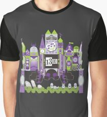Is This Small World Actually Stretching? (for Darker Rides) Graphic T-Shirt