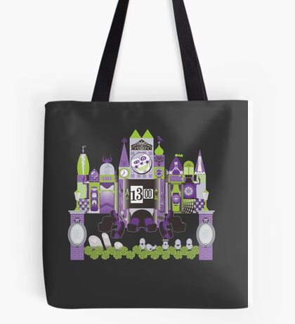 Is This Small World Actually Stretching? (for Darker Rides) Tote Bag