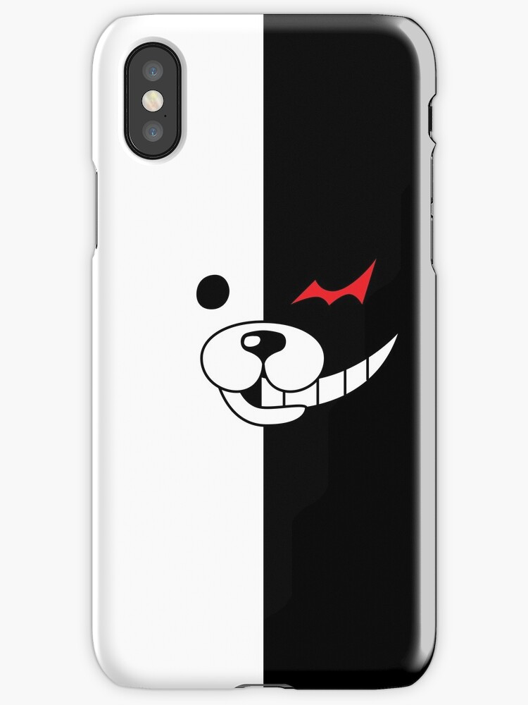 redbubble iphone cases quot danganronpa monokuma quot iphone cases amp covers by 12847