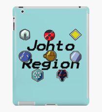 Pokemon Gym Badges: Johto iPad Case/Skin