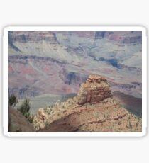 Colorful Grand Canyon  Photograph  Sticker