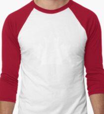 White maple leaf Men's Baseball ¾ T-Shirt