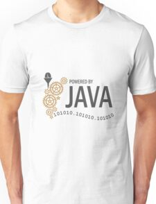 Powered  by Java VRS2 T-Shirt