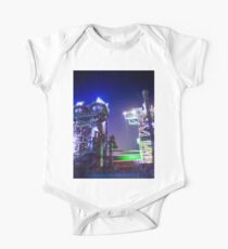 Industrial HDR photography - Steel Plant 2 One Piece - Short Sleeve