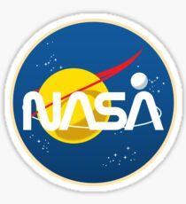 Retro NASA Sticker
