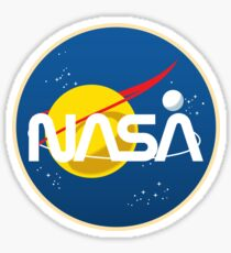 Retro NASA Sticker