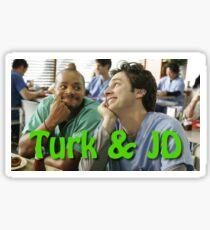 JD & Turk Sticker