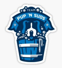 Pegatina Equipo Pup N Suds