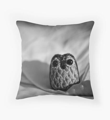Unintentional Night Owl - The Flightless Fowl Throw Pillow