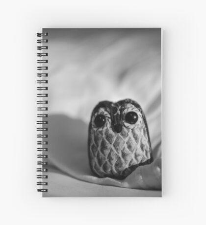Unintentional Night Owl - The Flightless Fowl Spiral Notebook