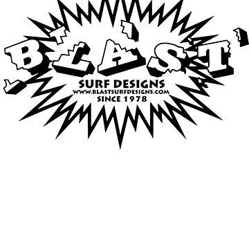 BLAST SURF DESIGNS LOGO by depoochai7