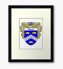 Harris Coat of Arms/Family Crest Framed Print
