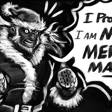 Ganondorf is not a Merry man by GildedPixel