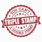 Triple Stamp by DetourShirts