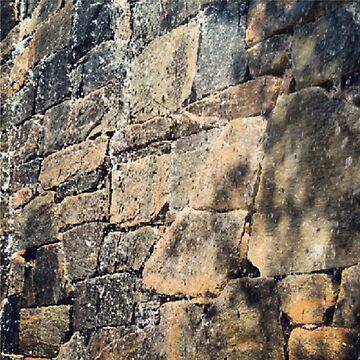 Rock Wall by ladychalk