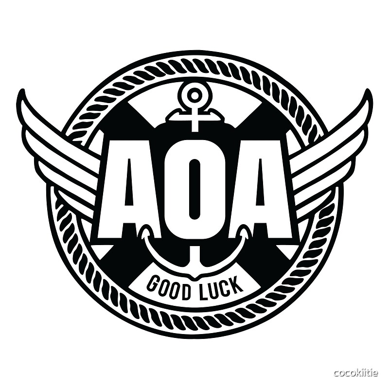 quotaoa good luck logoquot by cocokiitie redbubble