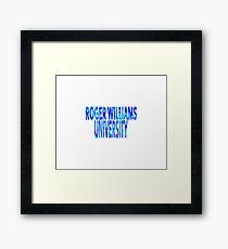 Roger Williams University Framed Print
