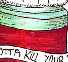 Twenty One Pilots Lyrics Sticker