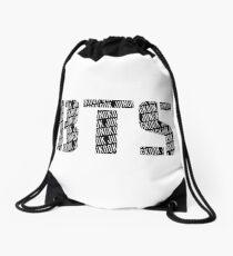 BTS/Bangtan Boys Logo/Font + Jungkook Drawstring Bag