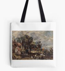 John Constable, , British Title Sketch for The Haywain, Tote Bag