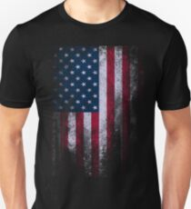 USA America Flag Unisex T-Shirt