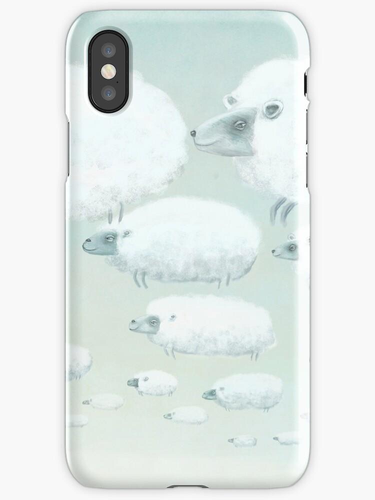 Cloudy Sheep by fizzyjinks
