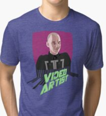 Knox Harrington, The Video Artist Tri-blend T-Shirt
