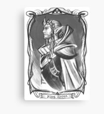 King Zelda Canvas Print