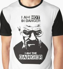 Breaking Bad - I Am The Danger Graphic T-Shirt