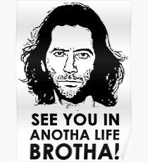 """Wir sehen uns im Anotha Leben - Desmond """"LOST"""" Poster"""
