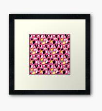 Pink Sea Shore Framed Print