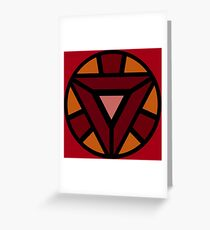 Arc Reactor Greeting Card