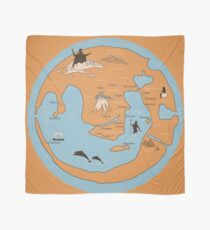 Map of Ancient Greece Scarf