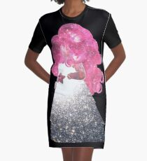 Rose Quartz Graphic T-Shirt Dress