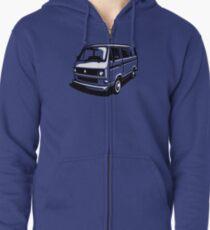T3 Bus Zipped Hoodie