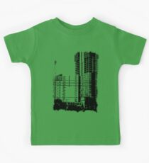 Skyscraper Under Construction Kids Clothes