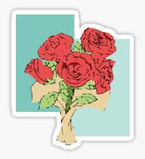 Your bouquet of roses Sticker