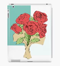Your bouquet of roses iPad Case/Skin