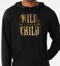 WILD CHILD in gold foil (image) Lightweight Hoodie