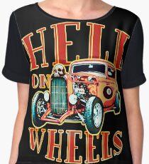 Hell on Wheels Women's Chiffon Top