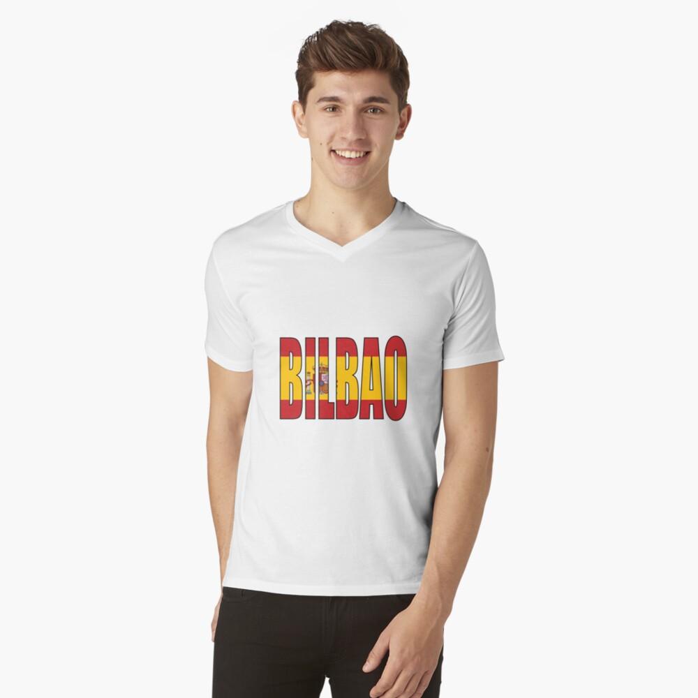 Bilbao. Camiseta de cuello en V
