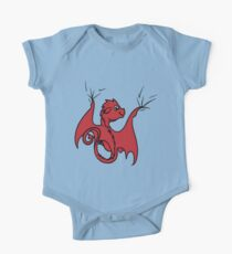 Red Dragon Rider Kids Clothes
