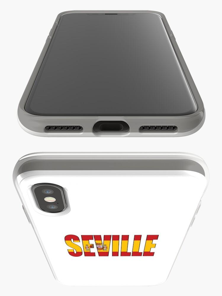 Vista alternativa de Funda y vinilo para iPhone Sevilla.