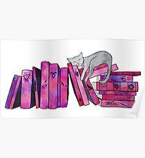 FanGirl Bookshelf Poster