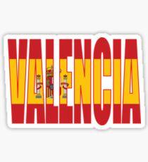 Pegatina Valencia.